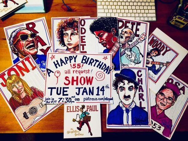 Ellis Paul039s Patreon page