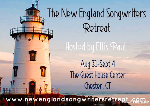 The New England Songwriters Retreat Hosted by Ellis Paul August 31 to Sept 4 2017