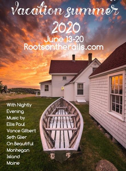 Monhegan Island Maine Summer Vacation
