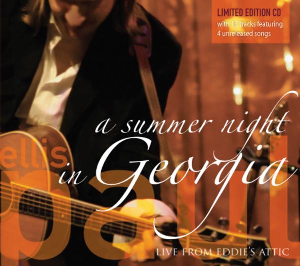 cover of A Summer Night in Georgia- Live at Eddies Attic