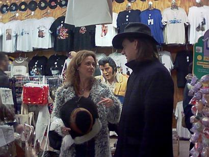 Michelle Greene and Ellis Paul in Nashville.