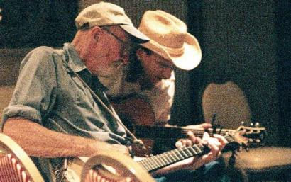 Pete Seeger and Ellis Paul