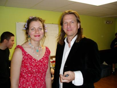 Antje Duvekot and Ellis Paul