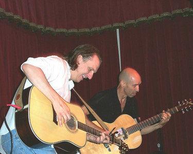 Ellis Paul and Don Conoscenti