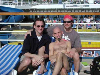 Ellis Paul , Don Conoscenti and Ralph Jaccodine.