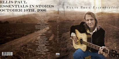 Ellis Paul Essentials CD cover art