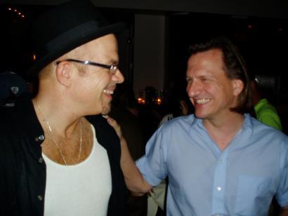 Stu Kimball (Bob Dylan's guitarist) and Ellis Paul
