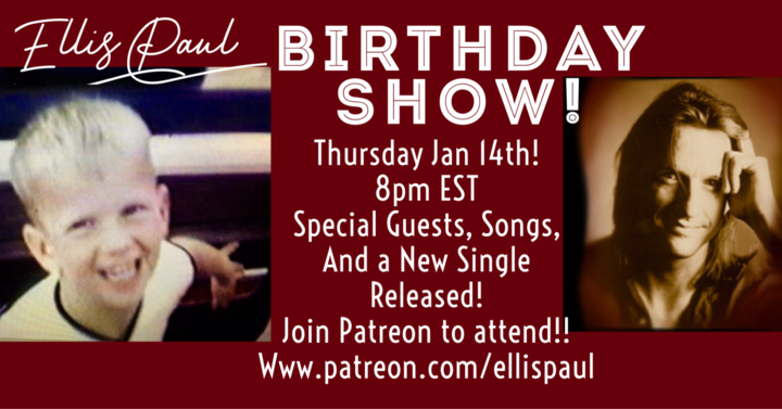 Patreon birthday show Friday special guest and more