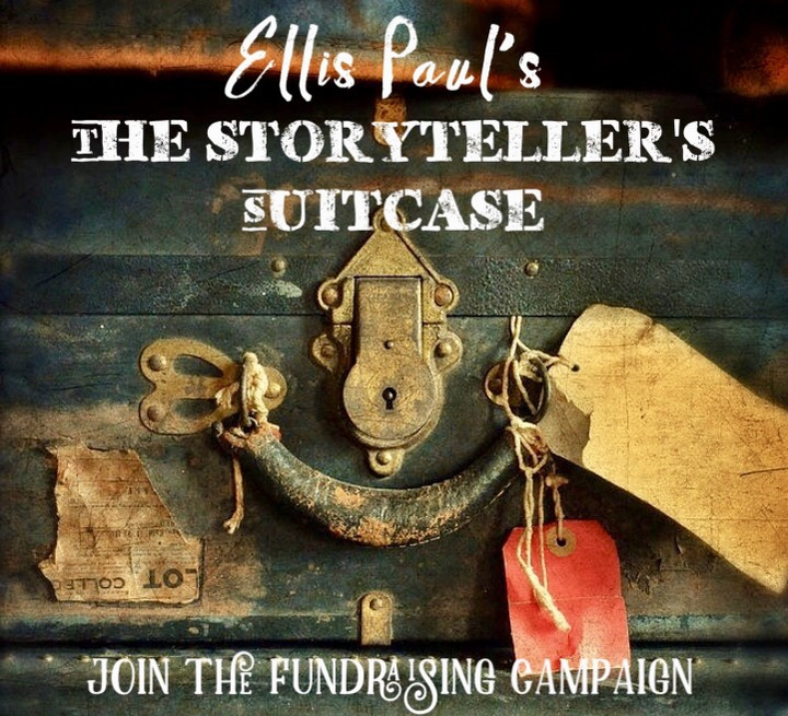 The Storyteller039s Suitcase  Fundraiser Announcement
