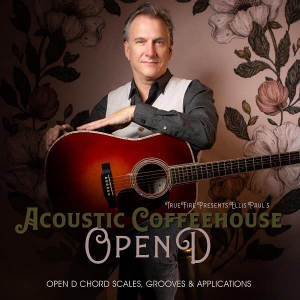 Ellis Paul Acoustic Coffeehouse Open D Tuning