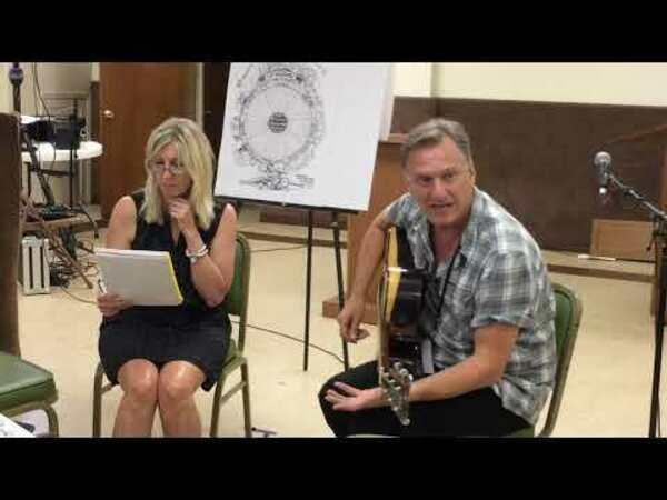 Ellis Paul 2019 Songwriting Workshop at WoodyFest
