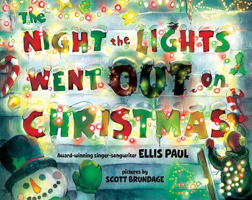 The Night The Lights Went Out On Christmas Book with CD