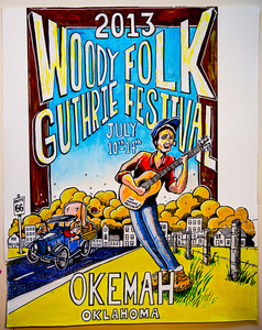 Coming Soon nbspLimited Edition 2013 Woody Fest Poster