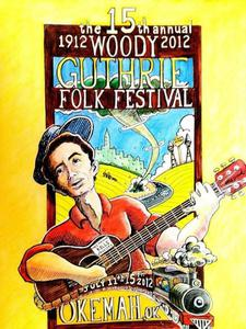 100th Anniversary Woody Guthrie Poster
